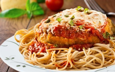 Chicken Parmesan Dinner